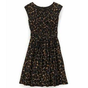 Boden Leopard Print Selina Fit & Flare Dress